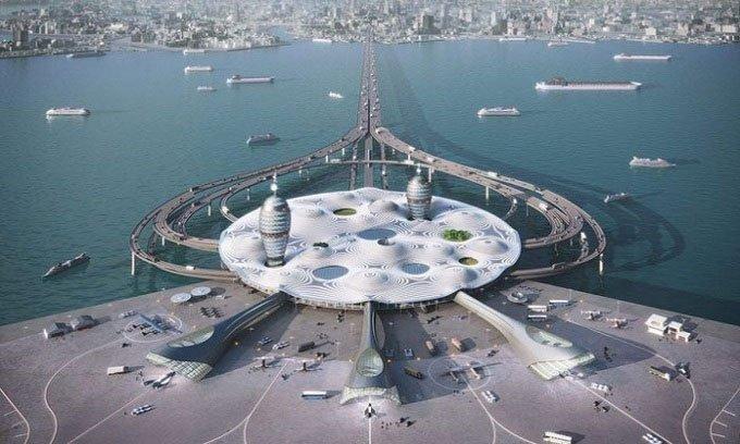 Nhật thiết kế sân bay vũ trụ đẹp như mơ