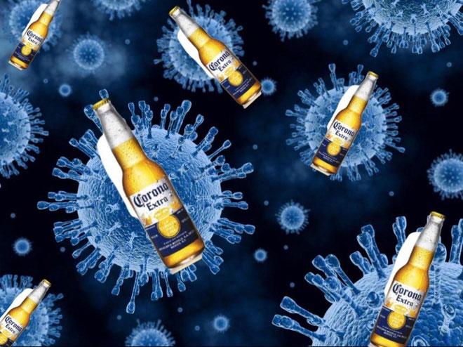 Nhiều người nhầm lẫn về virus Vũ Hán và bia Corona