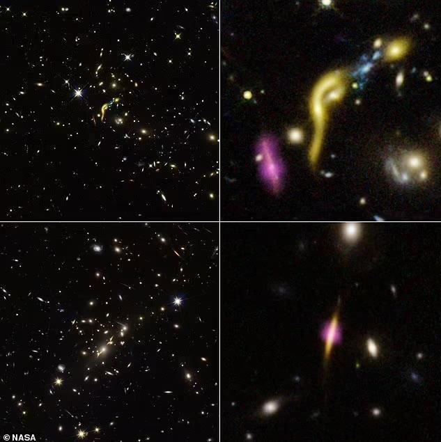 Nhìn tương lai của chúng ta thông qua 6 thây ma'' thiên hà mà NASA vừa chụp được
