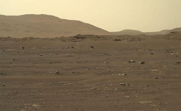 Những hình ảnh chưa từng có trên Hỏa Tinh