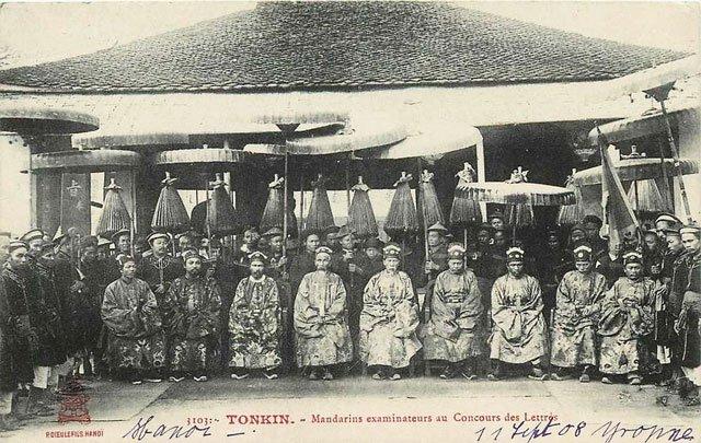 Những hình ảnh về kỳ thi Hương cuối thế kỷ XIX