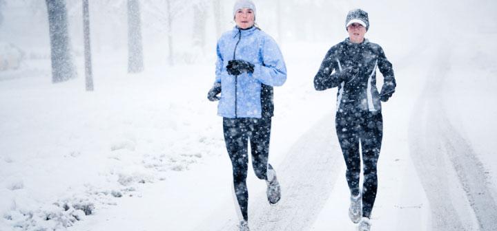 Những lợi ích bất ngờ của tập thể dục trong trời lạnh