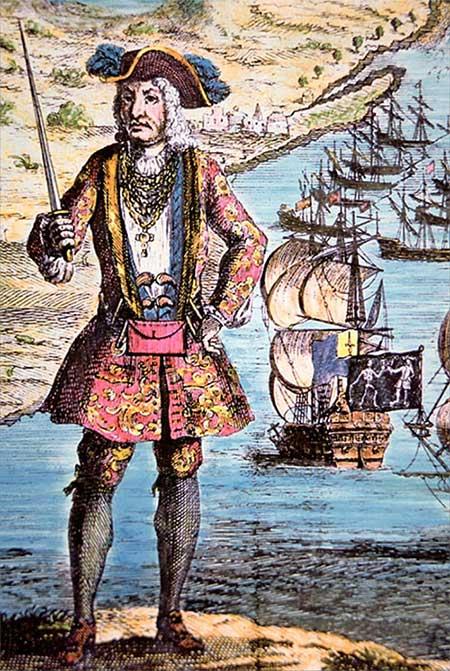 Những tên cướp biển đặc biệt chất trong lịch sử, hơn cả cướp biển vùng Caribbean
