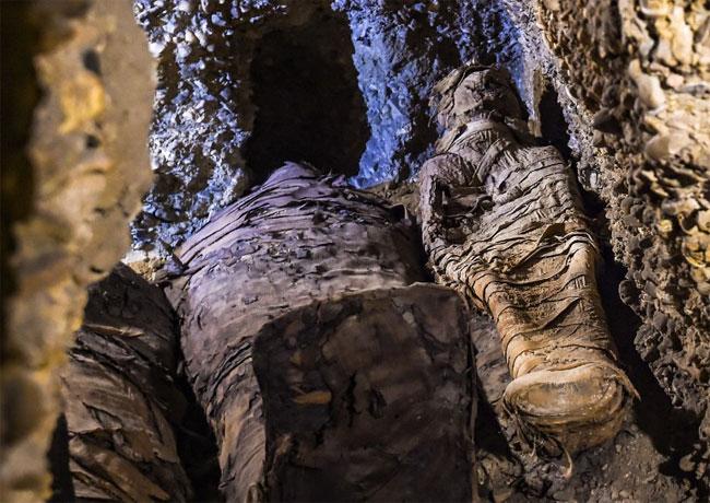 Những xác ướp bí ẩn trong ngôi mộ cổ Ai Cập