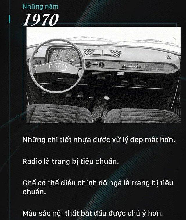 Nội thất xe hơi đã thay đổi như thế nào trong 100 năm qua?