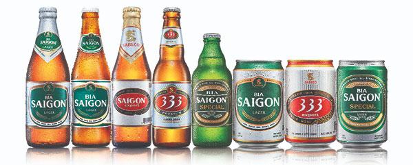Nồng độ cồn của tất cả các loại bia ở Việt Nam