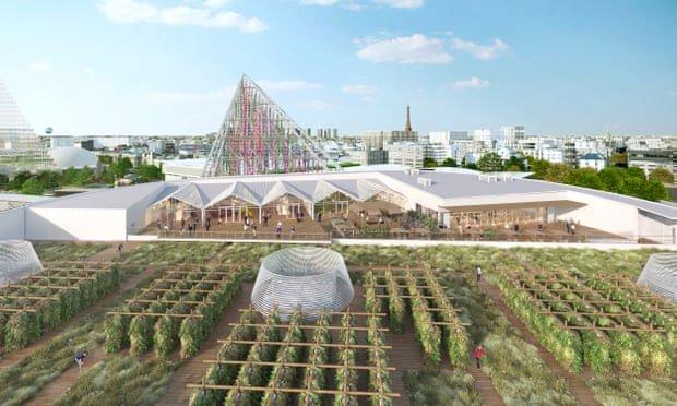 Nông trại xanh tươi lớn nhất thế giới giữa lòng Paris hoa lệ
