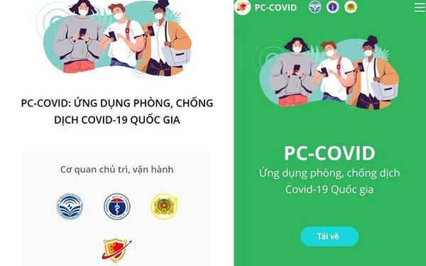 PC-Covid - app thống nhất về phòng chống Covid-19 chính thức ra mắt