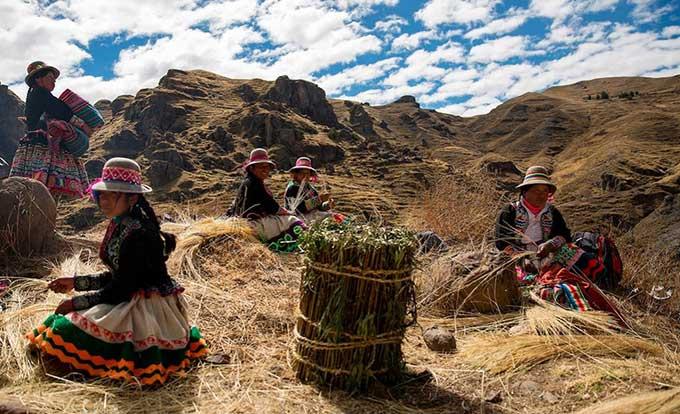 Peru khôi phục cầu dây 500 năm tuổi của người Inca