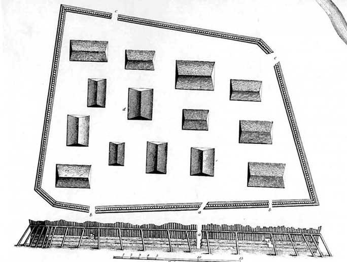 Pháo đài ma biến mất 100 năm bất ngờ hiện hình trong ảnh radar