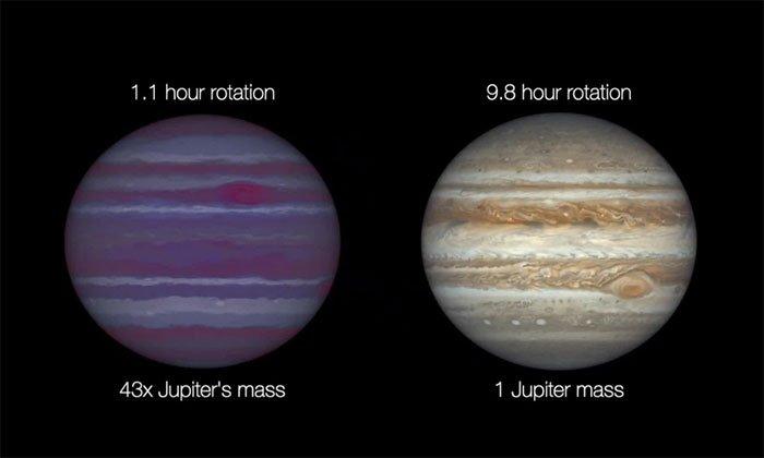 Phát hiện ba ngôi sao lùn nâu quay nhanh đến mức đạt tới giới hạn của vũ trụ