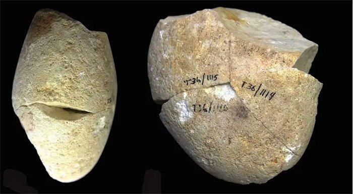 Phát hiện công cụ mài bằng đá có niên đại khoảng 350 nghìn năm tại Israel