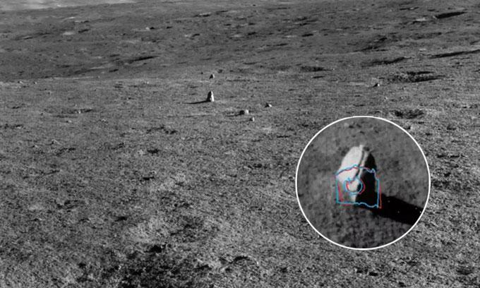 Phát hiện cột đá bất thường trên Mặt trăng
