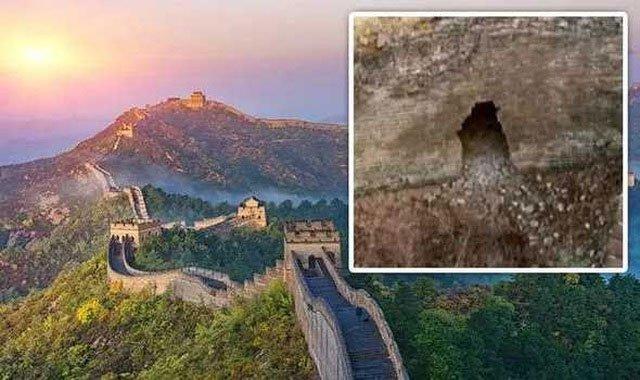 Phát hiện đường hầm bí ẩn chưa từng thấy bên dưới Vạn Lý Trường Thành ở Trung Quốc