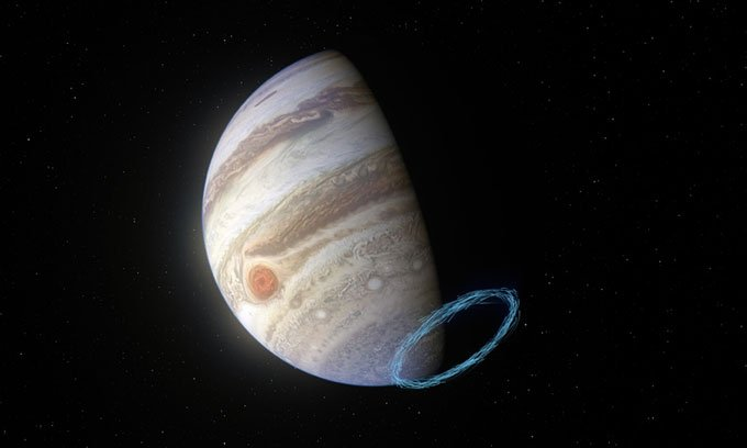 Phát hiện gió quái vậtvới tốc độ 1.450km/h trên sao Mộc