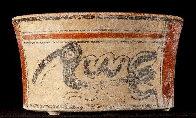 Phát hiện hài cốt sứ giả Maya 1.300 năm tuổi