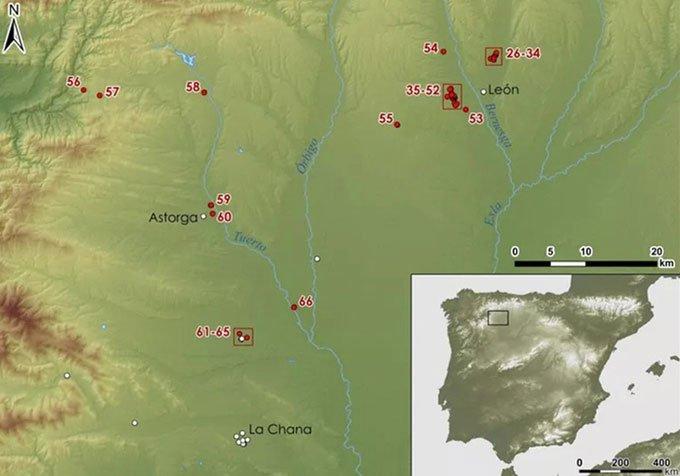 Phát hiện hàng chục trại lính La Mã 2.000 năm tuổi