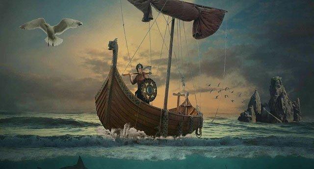Phát hiện hang động bí ẩn chống ngày tận thế của người Viking