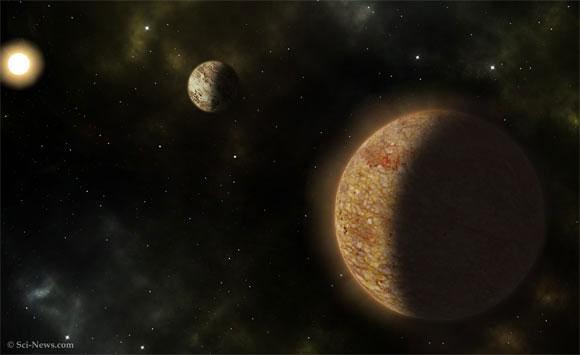 Phát hiện Hệ Mặt trời già với 2 siêu Trái đất
