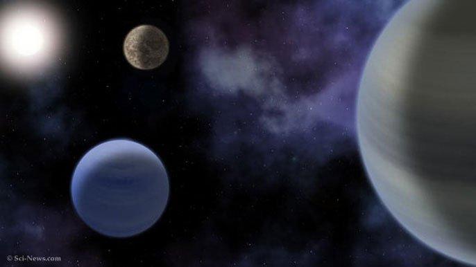 Phát hiện Hệ mặt trời lạ có hành tinh thuộc vùng sự sống