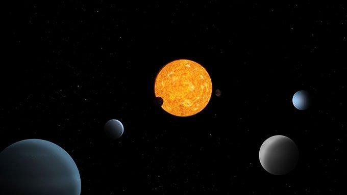 Phát hiện hệ sáu hành tinh kỳ lạ có quỹ đạo bị khóa