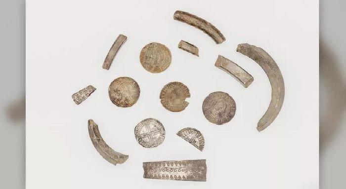 Phát hiện heo đất chứa kho báu của người Viking gần 1.000 năm trước