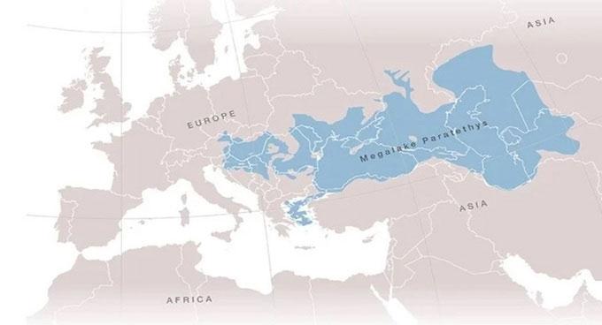Phát hiện hồ cổ đại lớn gấp 10 lần tất cả hồ nướcngày nay
