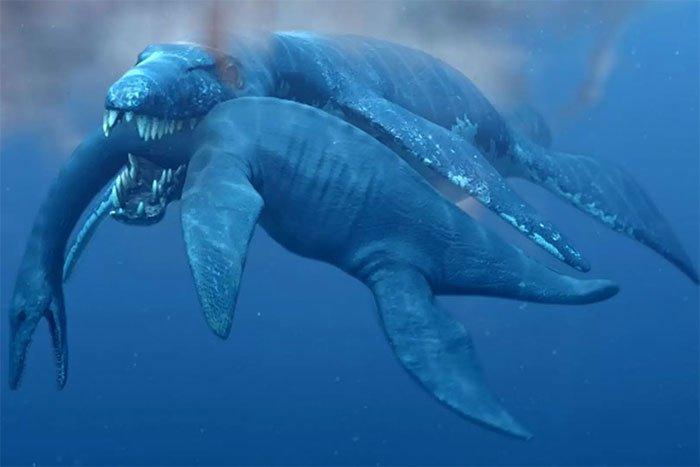 Phát hiện hóa thạch quái vật biển kỷ Jura dài 10m