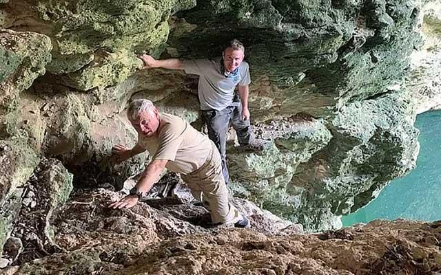 Phát hiện loài giáp xác trong hang động hoàn toàn mới