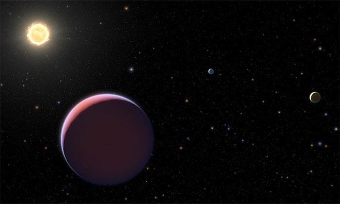 Phát hiện ngoại hành tinh siêu phồng có mật độ như kẹo bông