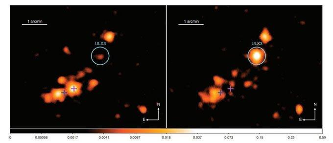 Phát hiện nguồn tia X siêu sáng trong vũ trụ xa xôi