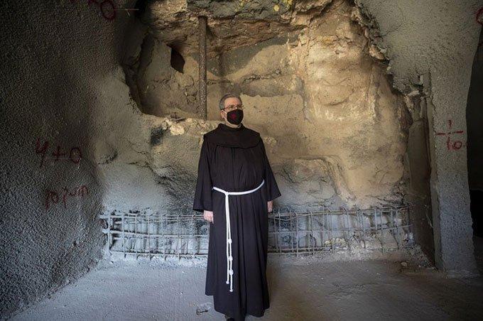 Phát hiện phòng tắm nghi lễ từ thời Chúa Jesus