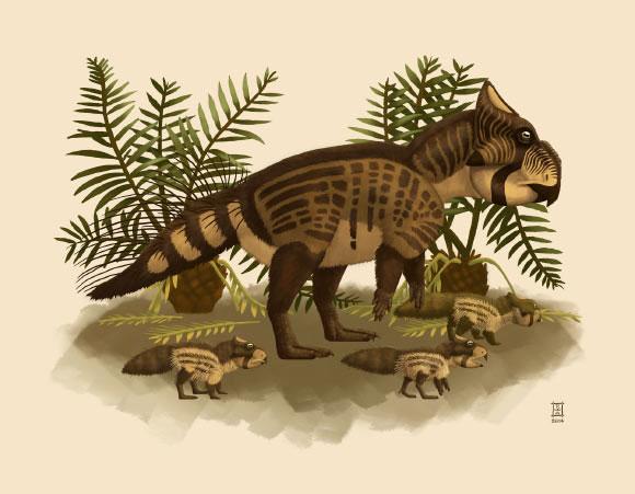 Phát hiện ra loài khủng long tí hon mới quý hiếm