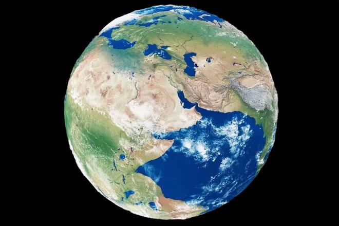 Phát hiện siêu đại dương bị Trái đất nuốt chửng