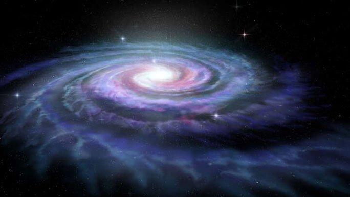 Phát hiện siêu mãng xà vũ trụ cuốn lấy thiên hà chứa Trái đất