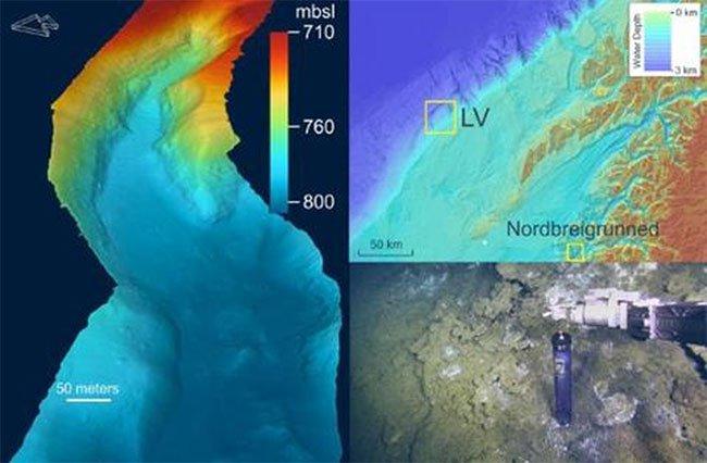 Phát hiện thêm biển nước ngọt dưới đáy biển ở Na Uy