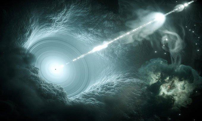 Phát hiện thiên hà xa xôi nhất phát ra tia gamma