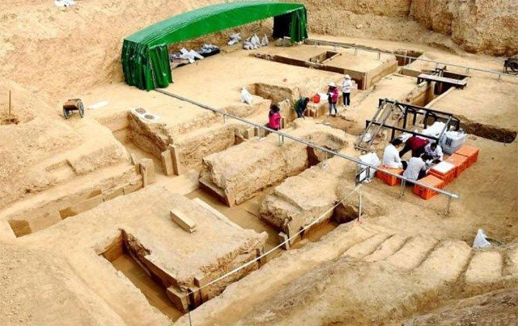Phát hiện thuốc trường sinh bất lão trong mộ cổ Trung Quốc