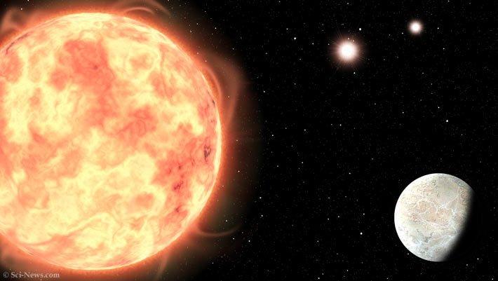 Phát hiện Trái đất đá có cùng lúc 3 mặt trời