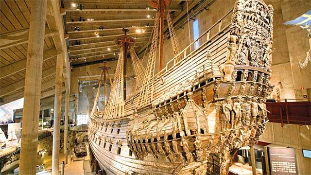 Phát hiện xác tàu chiến ở Thụy Điển