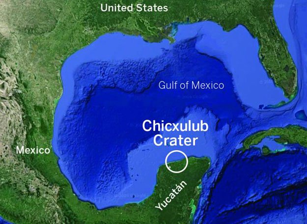 Phát hiện xác tiểu hành tinh suýt gây ra tận thế dưới vịnh Mexico