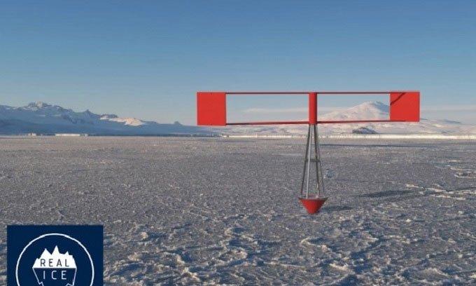 Phát minh cỗ máy tái tạo băng Bắc Cực