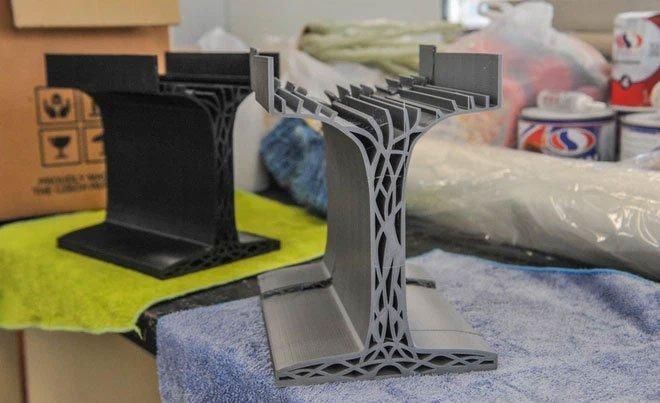 Phát triển thành công dầm bê tông làm từ công nghệ in 3D