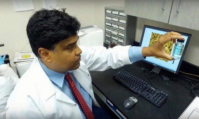 Phát triển thuốc diệt khuẩn nano khử virus hiệu quả tới 7 ngày