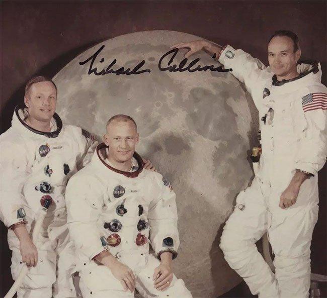 Phi hành gia tàu Apollo 11 tiết lộ bức ảnh chưa từng được công bố