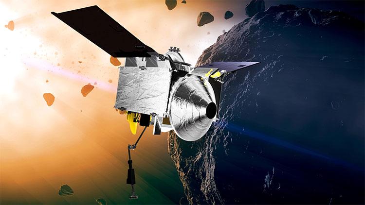 Phi thuyền NASA tiến sát thiên thạch có thể va chạm với Trái đất
