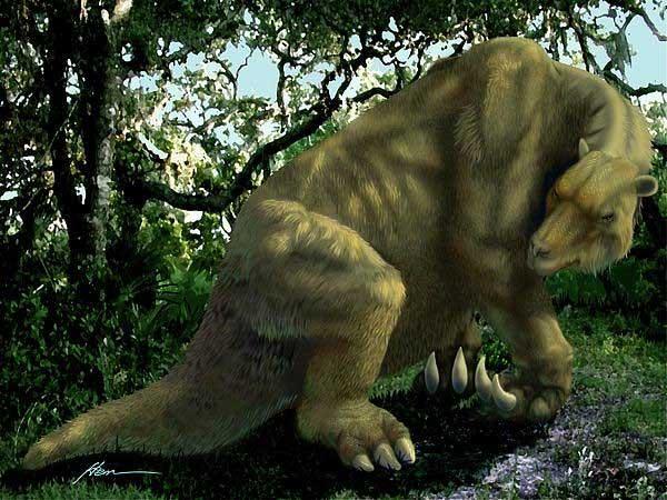 Phiên bản quái thú cổ xưa của 4 sinh vật hiện đại hiền lành