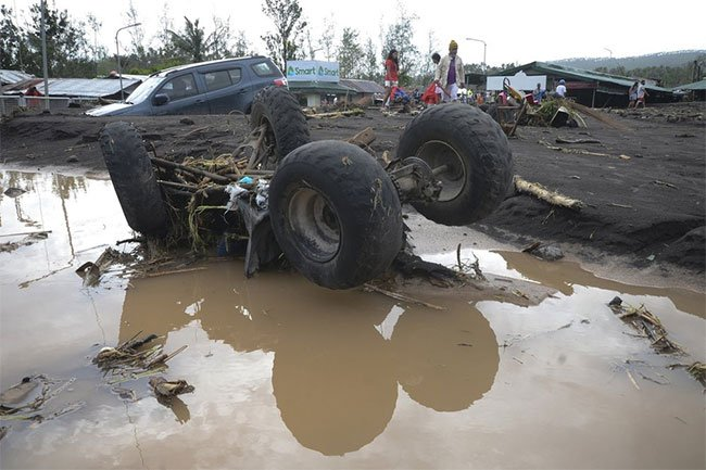 Philippines tan hoang sau siêu bão mạnh nhất thế giới trong năm