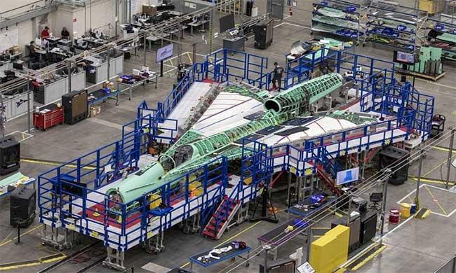 Quá trình chế tạo máy bay siêu thanh Con trai của Concorde