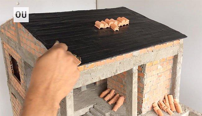 Quá trình chi tiết xây dựng ngôi nhà mini theo tiêu chuẩn xây nhà thật